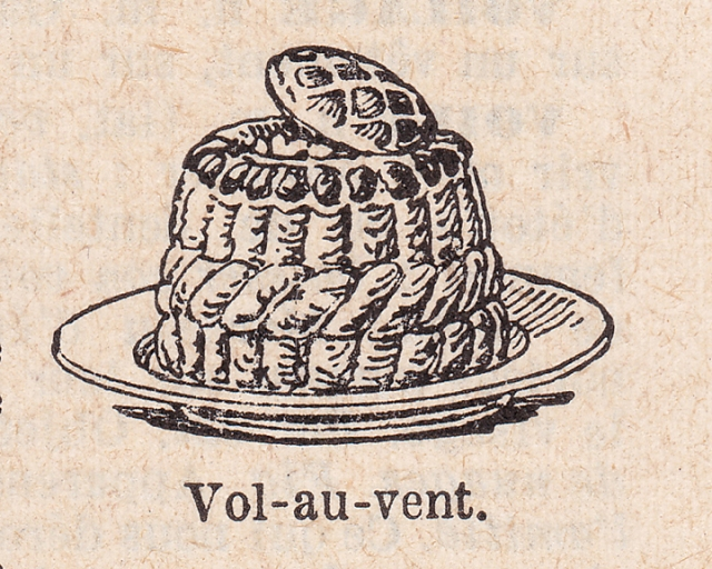 french dictionary illustrations vol au vent