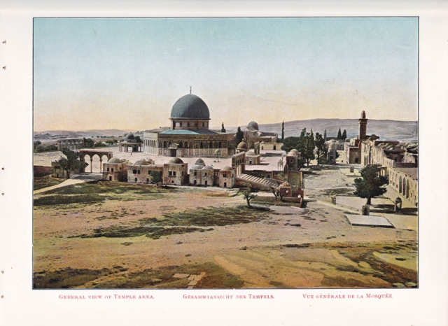 General View of the Temple Area,Jerusalem