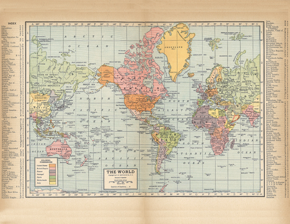 20 free printable antique maps easy to download redbudart map of the world from a 1904 encyclopedia gumiabroncs Images