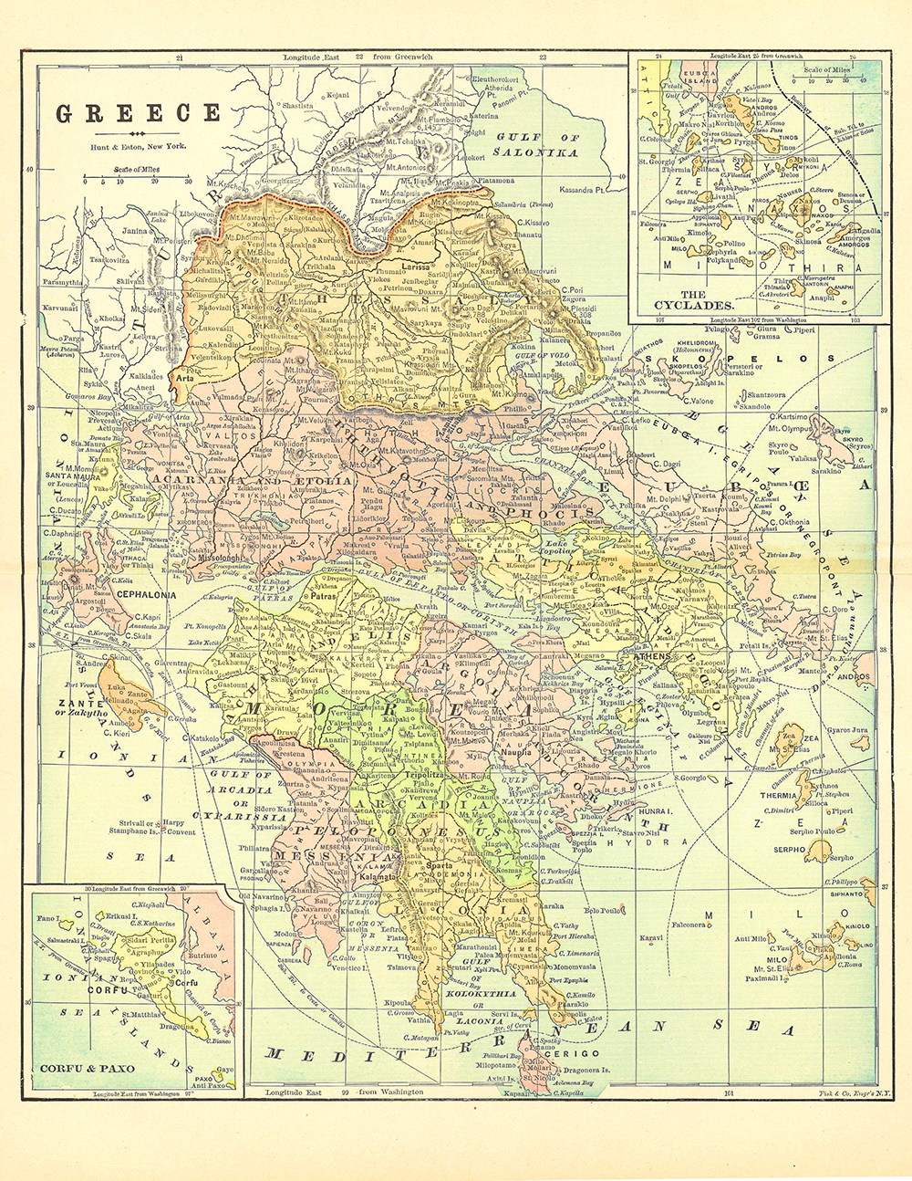 graphic about Printable Maps of Greece referred to as 20 Cost-free Printable Antique Maps- basic toward obtain redbudart